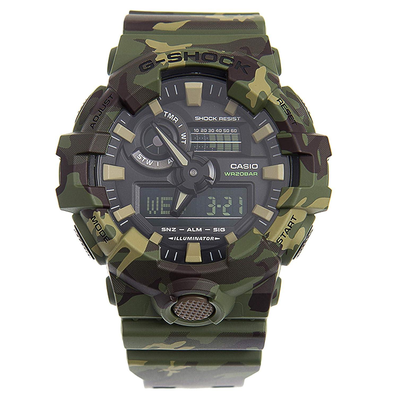 cb6810365a5 Amazon.com  Casio G-Shock Men s GA700CM-3A Green Camo One Size  Watches