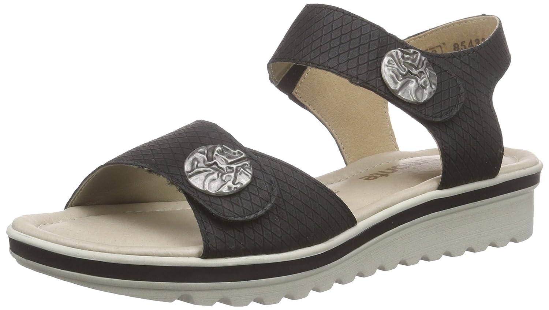 Black sandals ebay uk - Image Is Loading 5 Uk Black Schwarz Schwarz 01 Remonte Dorndorf