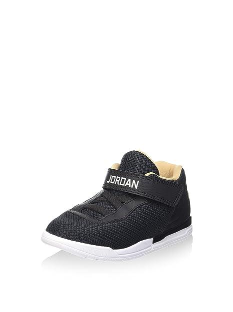 Nike Jordan Academy BT, Zapatos de Primeros Pasos para Bebés, Negro (Black/White-Cool Grey-Vachetta Tan), 23 1/2 EU: Amazon.es: Zapatos y complementos