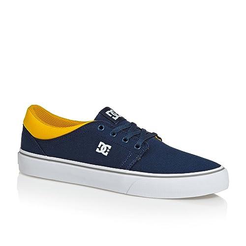DC Shoes Trase TX, Zapatillas para Hombre, Azul (Navy/Camel NC2), 39 EU