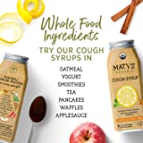 Matys Organic Cough Syrup, 6 Fluid Ounce, Soothes