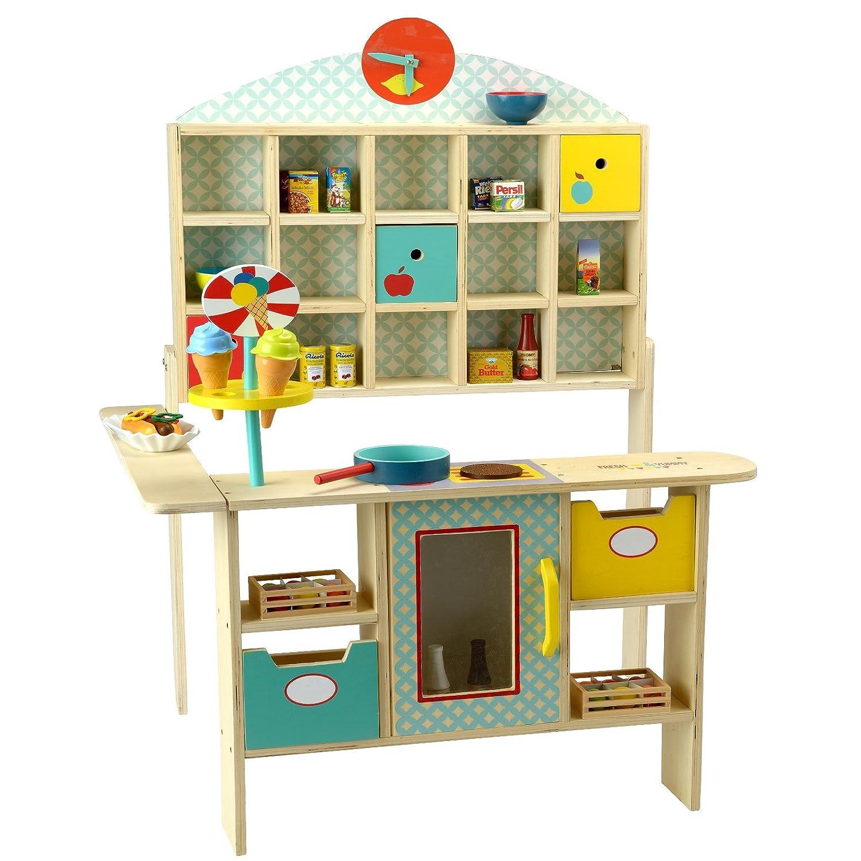 beluga Spielwaren 30880 - Kaufladen Fresh and Yummy Set, türkis ...
