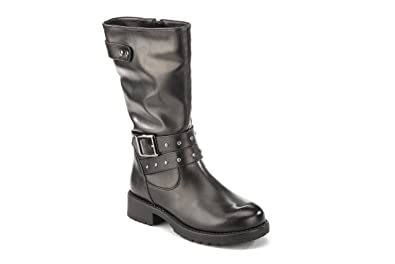 Lumberjack - Lumberjack Sweet Chaussures pour Garçon Noir Cuir 9mWQdQB0