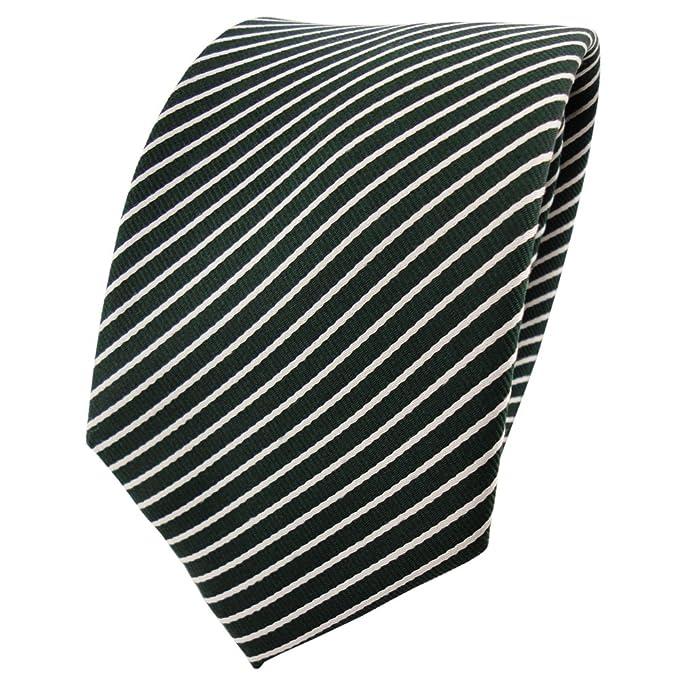 ohne Markenname Diseñador corbata de seda de raso - verde verde ...
