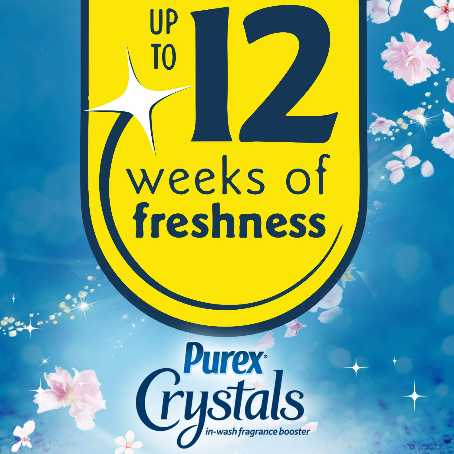Amazon.com: Purex Crystals in-Wash Fragrance and Scent Booster, Fresh Spring Waters, 21 Ounce: Health & Personal Care