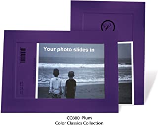 "product image for Photo Note Cards for 4"" x 6"" image 10 Pack with Envelopes ColorClassics (Plum)"