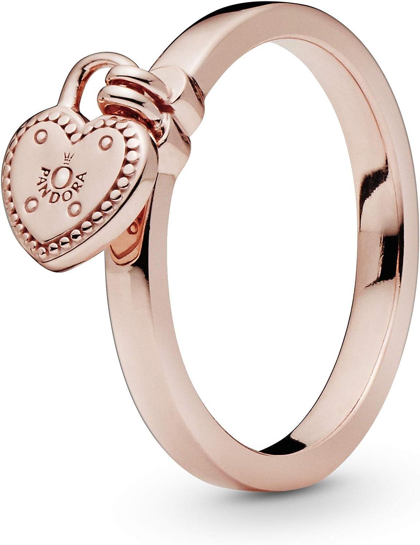Pandora Rose 186571 Love Lock Bague pour femme