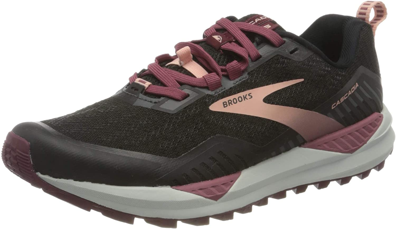 Brooks Cascadia 14 Women/'s Black//Hollyhock//Pink multiple sizes New In Box