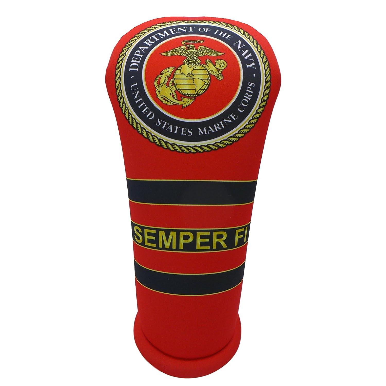 新版 BeejoのUnited States Marine Corps BeejoのUnited USMCゴルフクラブヘッドカバーと16