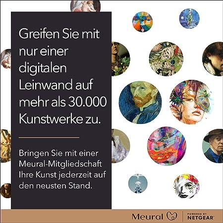 Meural Canvas Smart Art Digital Hd Canvas 41 X 61cm Computers Accessories
