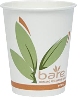 product image for Solo 370RC-J8484 10 oz Bare PCF Paper Hot Cup (Case of 1000)