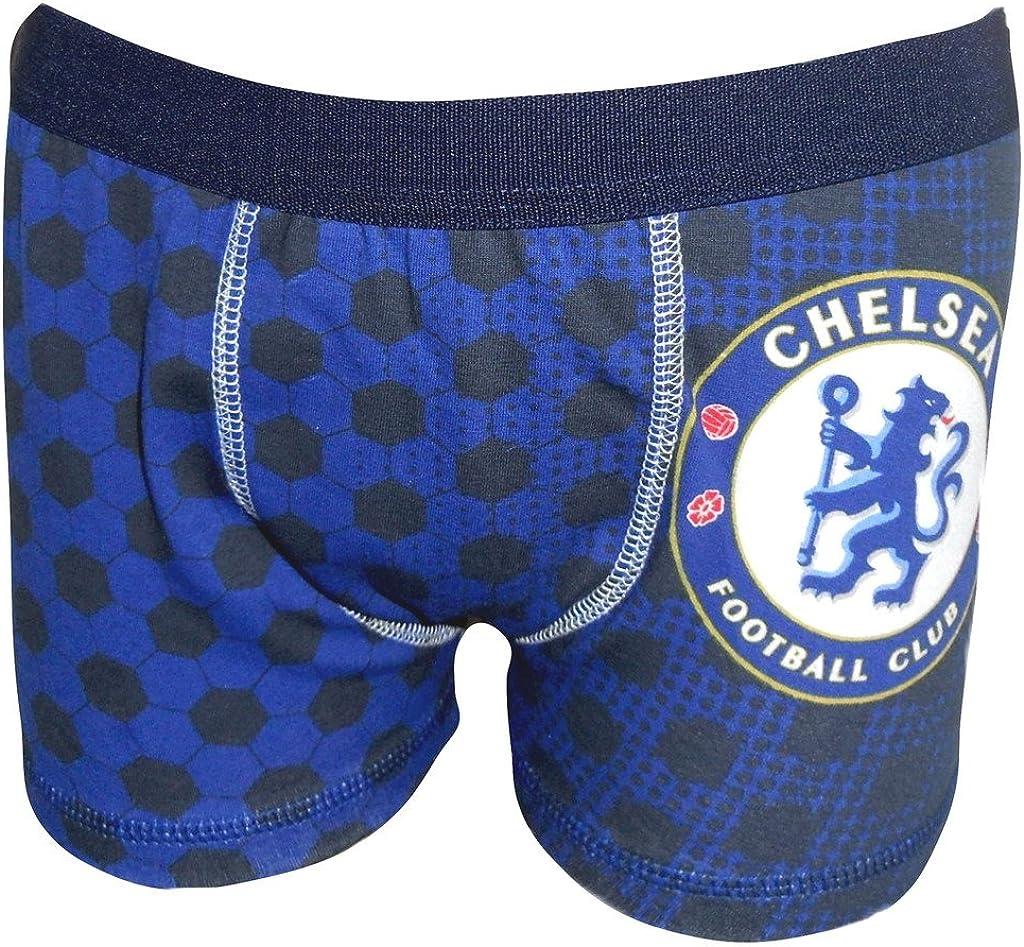 Chelsea Football Club Boys 1 Pack Boxer Shorts