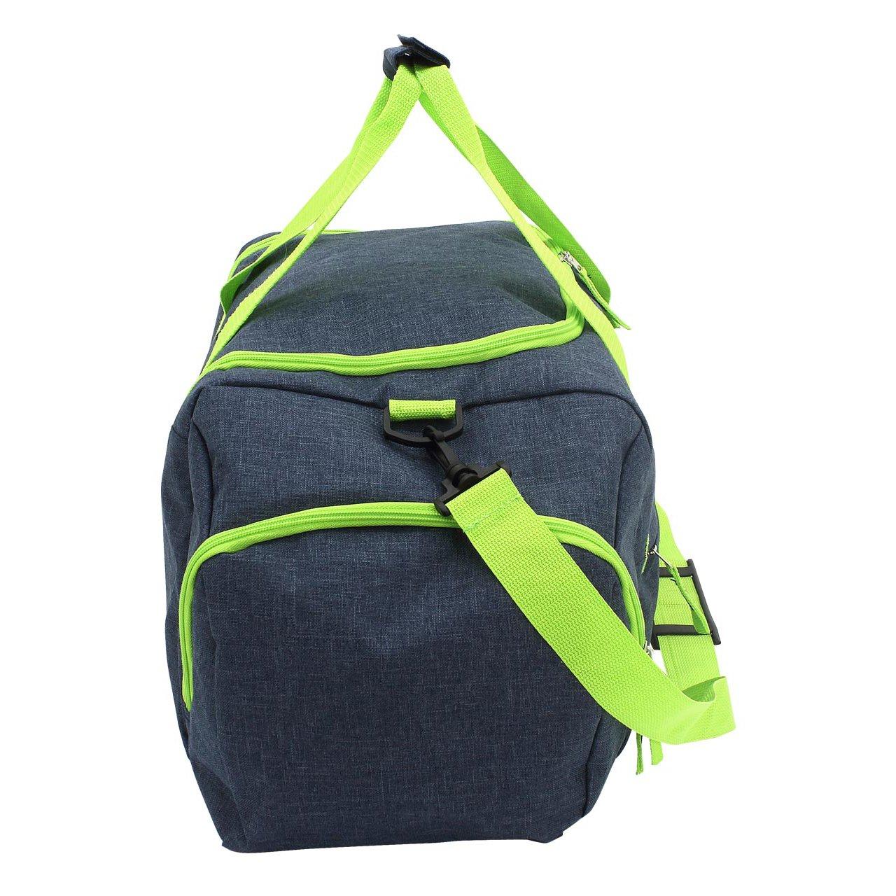 23 Sac de voyage, Gris/turquoise (multicolore) - 30033-9