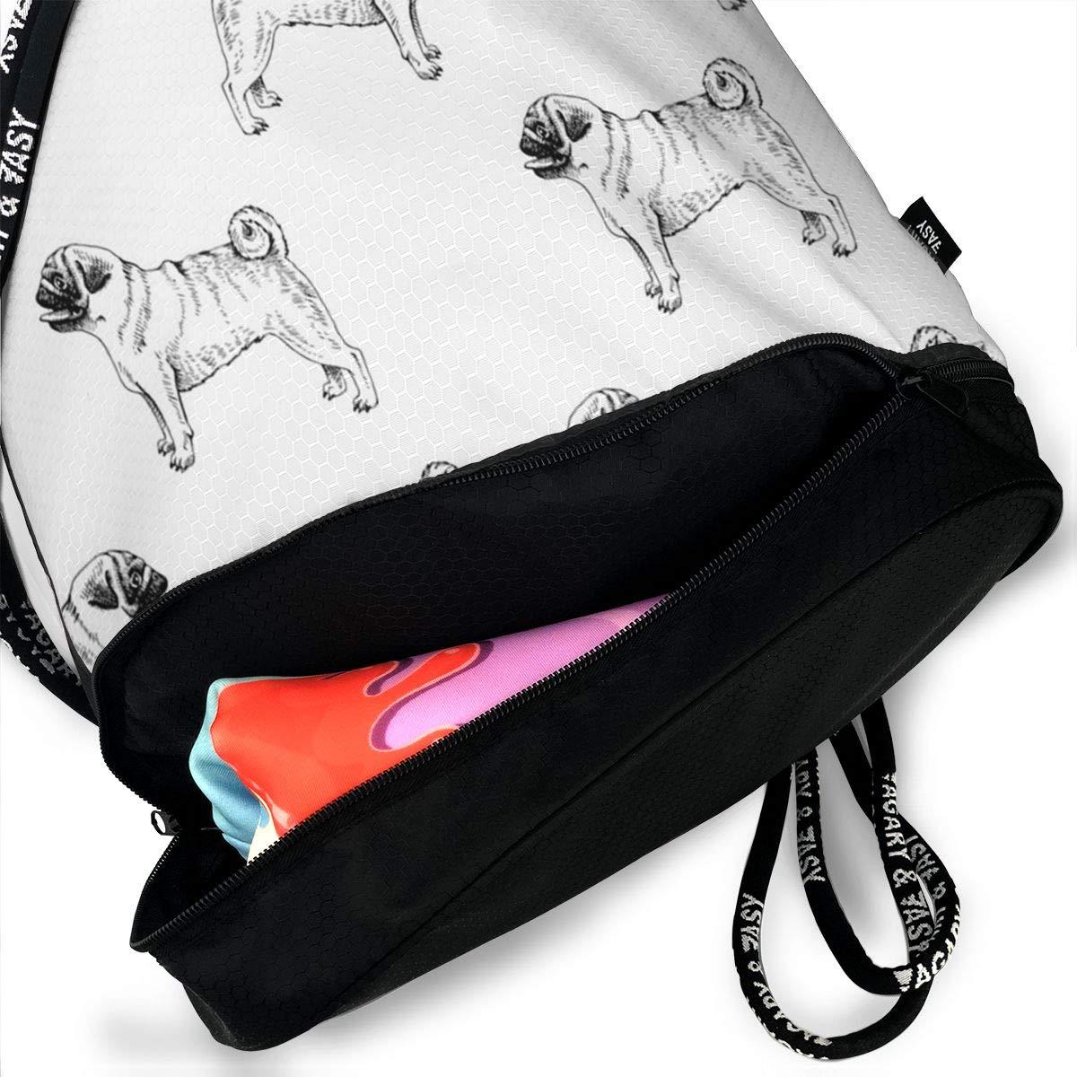 HUOPR5Q Various Planes Pattern Drawstring Backpack Sport Gym Sack Shoulder Bulk Bag Dance Bag for School Travel