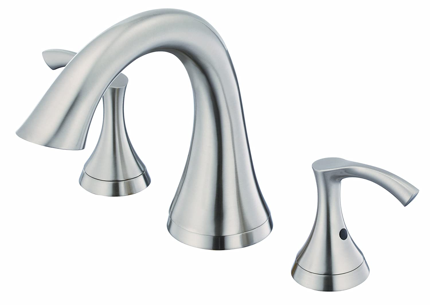 handheld handle mount item faucet changing waterfall taps brushed bath single tub nickel led faucets color deck