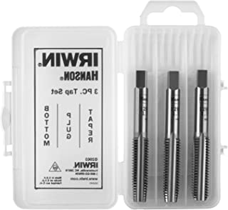 product image for IRWIN Tap Set, High Carbon Steel, 16 NC, 3/8-Inch, 3-Piece (2634)