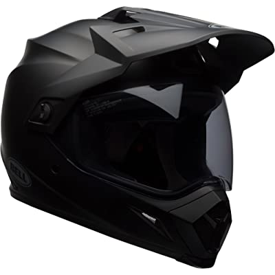 Bell MX-9 Adventure MIPS Full-Face Motorcycle Helmet (Solid Matte Black, Large): Automotive