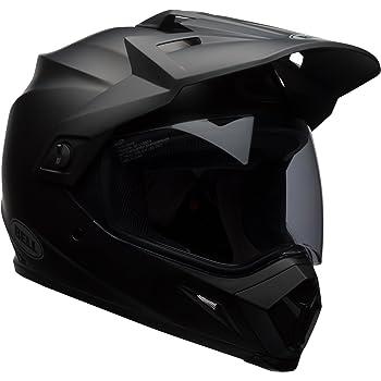 Bell MX-9 Adventure MIPS Off-Road Motorcycle Helmet (Solid Matte Black, Large)