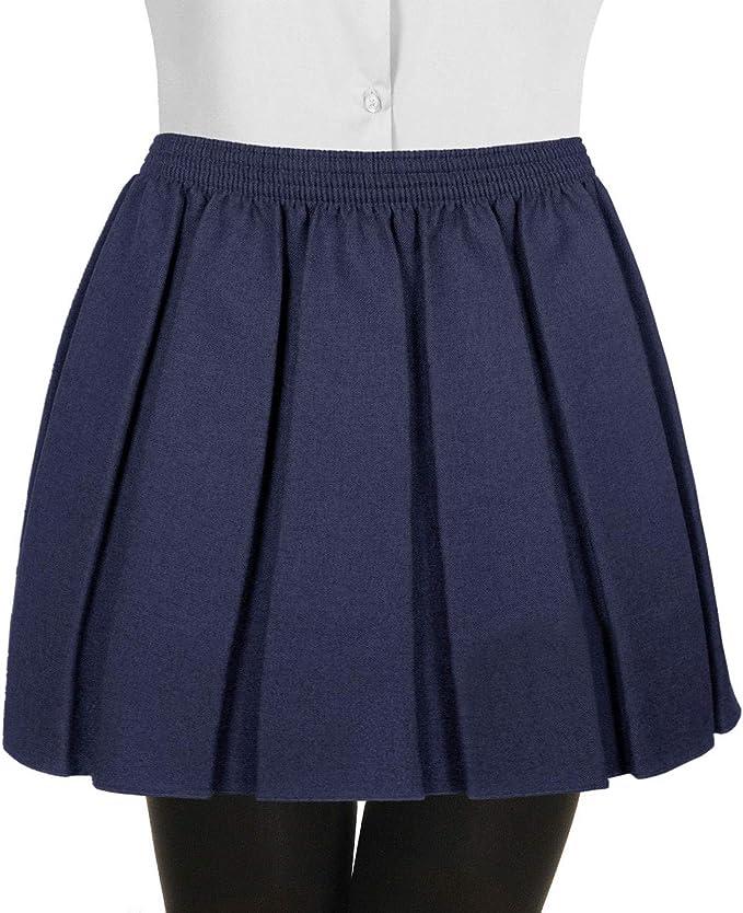 Gutsy - Falda - para niña Azul Azul Marino 5-6 Años: Amazon.es ...