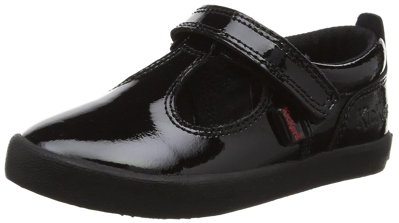 Kickers Kariko T-Strap, Mary Janes Fille Noir (Black) 29 EU 114814