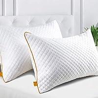 Maxzzz Pack de 2 Almohadas 42x70cm para Dormir Almohadas Fibra de Bambú…
