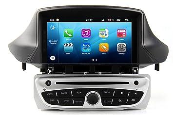RoverOne Octa Core Android Sistema 7 pulgadas reproductor de DVD del coche para Renault Megane 3