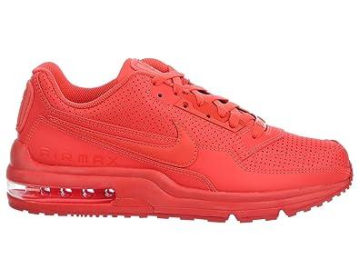 618e98503a1c Nike Men s Air Max LTD Bright Crimson Bright Crimson Leather Casual Shoes  18 ...