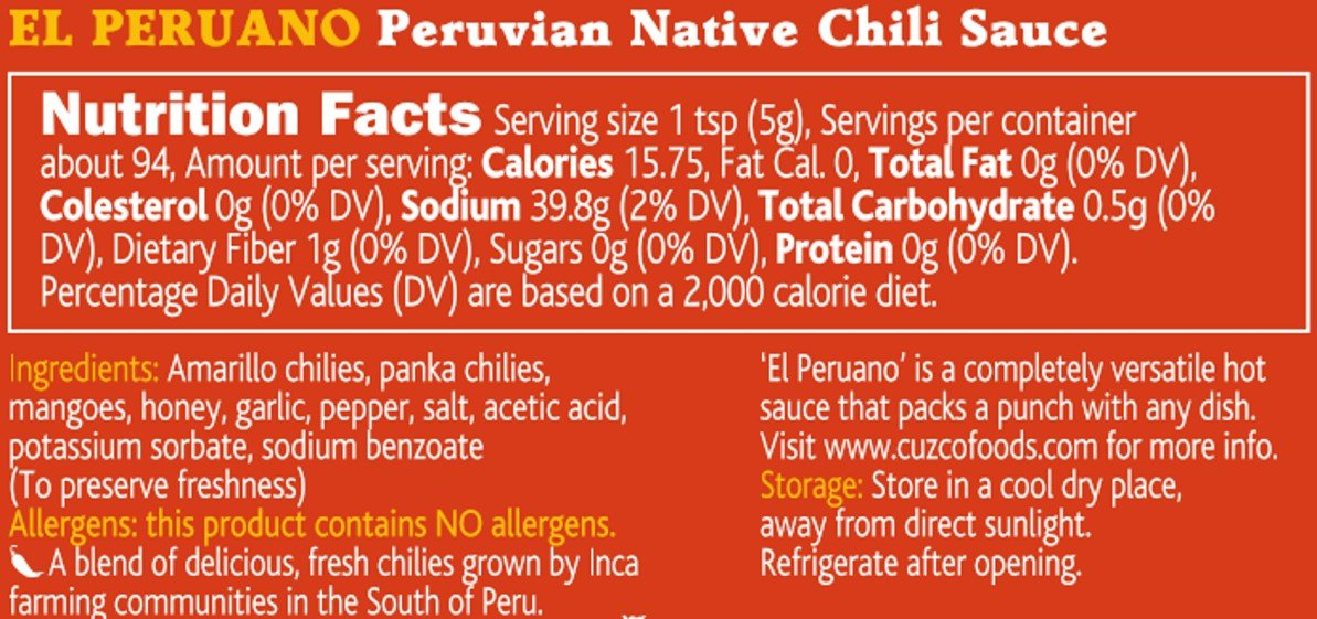 Paqu Jaya - El Peruano Native Chili Hot Sauce by Paqu Jaya (Image #5)