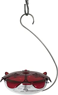 product image for Droll Yankees Hummingbird Feeder with Hanger, Ruby Slipper Red Feeder, 5 Ounce Nectar Capacity