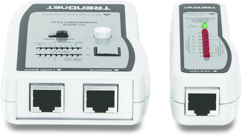 Amazon.com: TRENDnet Network Cable Tester, Tests Ethernet/USB & BNC ...