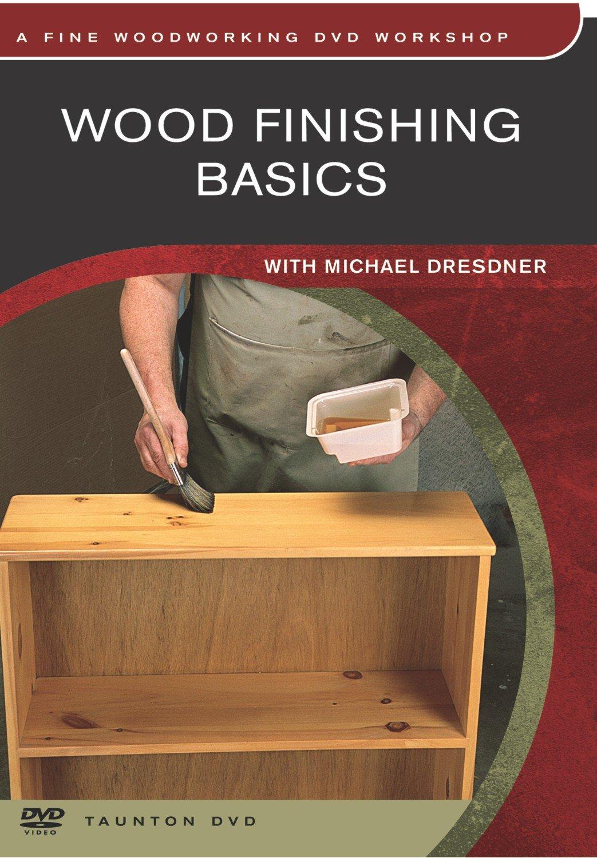 Wood Finishing Basics on DVD