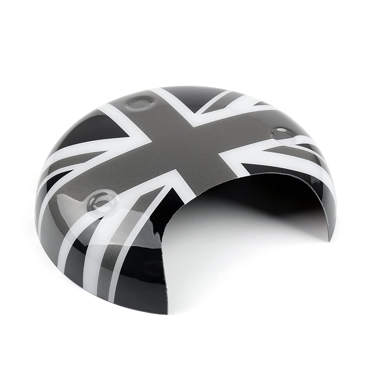 Artudatech Black Union Jack UK Flag Tachometer Panel Cover for MINI COOPER R56 R58 R60