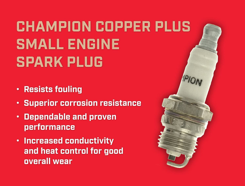 Champion RDJ7YT04/Copper Plus Spark Plug