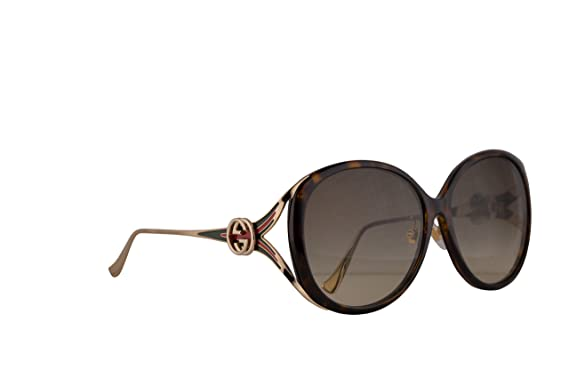 cc223763296eb Gucci GG0226SK Sunglasses Havana Gold w Brown Gradient Lens 60mm 003  GG0226 SK GG 0226 SK GG 0226SK  Amazon.co.uk  Clothing