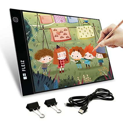 Amazon Com Elfeland A4 Size Ultra Thin Led Light Box Tracer Usb