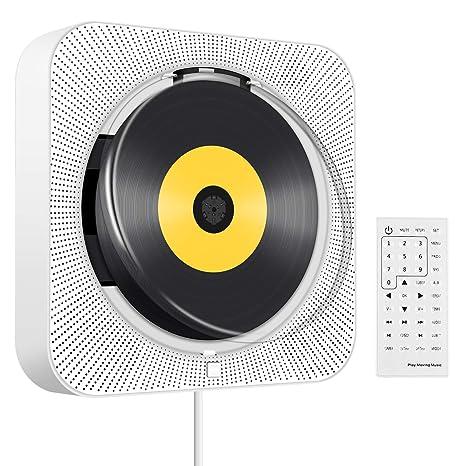 Amazon.com: Reproductor de CD/DVD portátil con Bluetooth ...