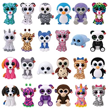 Peluches ty mini