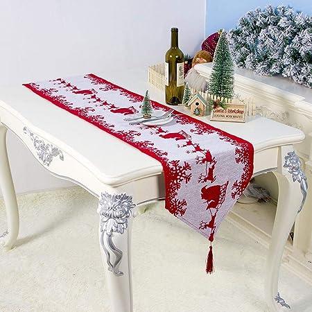 Home Deco - Camino de mesa de lino envejecido para decoración de ...
