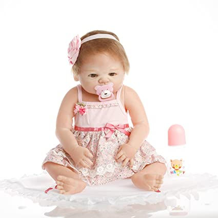 Npkdoll 10 Inch Reborn Baby Dolls For Sale Silicone Realistic Baby Doll Toys For Children Lifelike With Red Hat Cheap Toys Strong Packing Dolls Dolls & Stuffed Toys