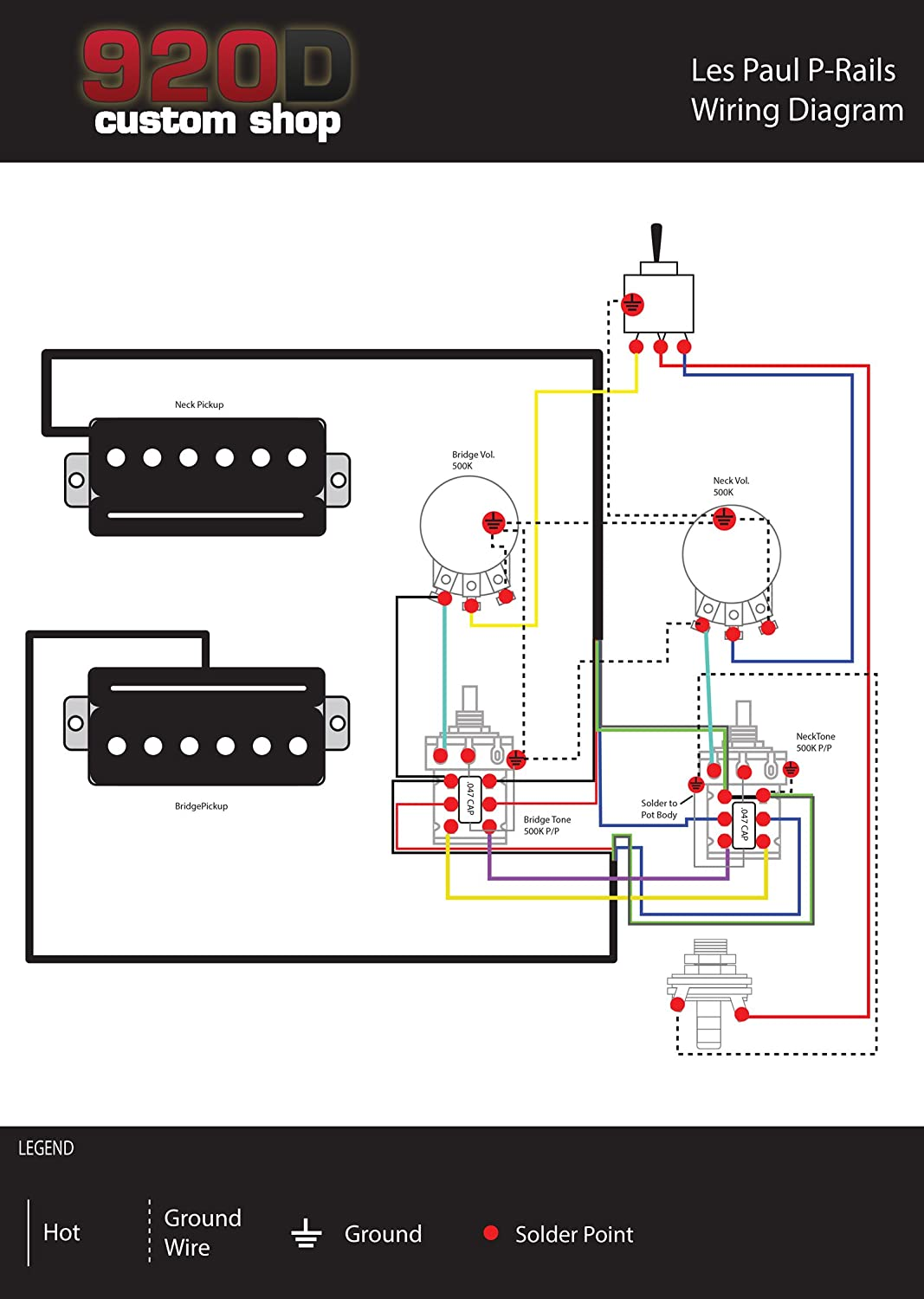 Seymour Duncan SHPR-1 P-Rails Humbucker Pickup Set, Black w/Wiring on mercury outboard wiring, model train wiring, pelco ptz wiring, stratocaster wiring,