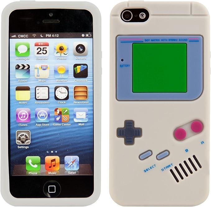 Kwmobile Coque en Silicone pour Apple iPhone Se / 5 / 5S Motif ...
