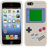 kwmobile ÉTUI EN SILICONE Design gameboy pour Apple iPhone SE / 5 / 5S Design stylé et protection optimale