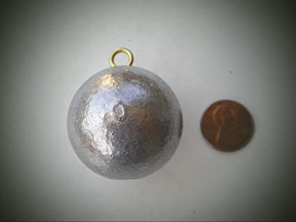 50 PCS CANNON BALL SINKERS GOOD QUALITY FROM DO-IT MOLD 1//2 OZ