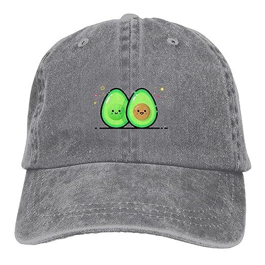 Amazon.com  Michgton Cute Avocado Unisex Cute Adjustable Baseball ... 6f713c437e9