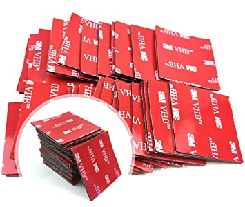 3M 5952 double sided Adhesive Strips 10mm X 200mm 100/% GENUINE