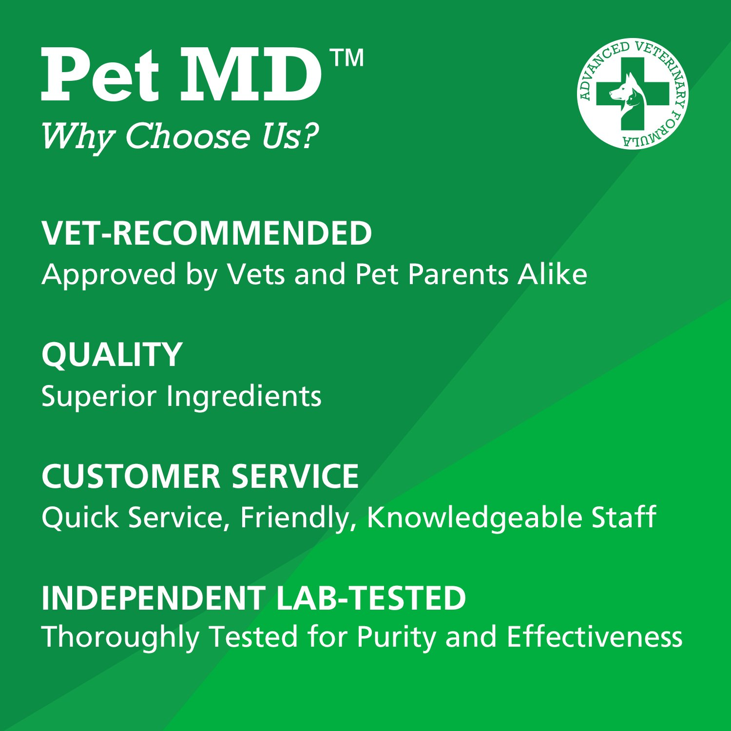 Pet MD - Canine Tabs Plus 365 Count - Advanced Multivitamins for Dogs - Natural Daily Vitamin and Mineral Nutritional Supplement - Liver Flavored Chewable Tablets by Pet MD (Image #5)