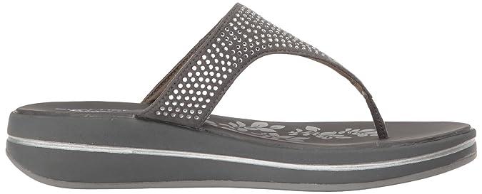 Skechers Relaxed Fit Actualizaciones Piedras Sandalias Carbón UK6 Carbón De Leña Nx0XFEH