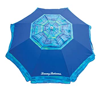 Blue : Tommy Bahama 7' Beach Umbrella 2018 Collection - Choose Your Color (Blue)