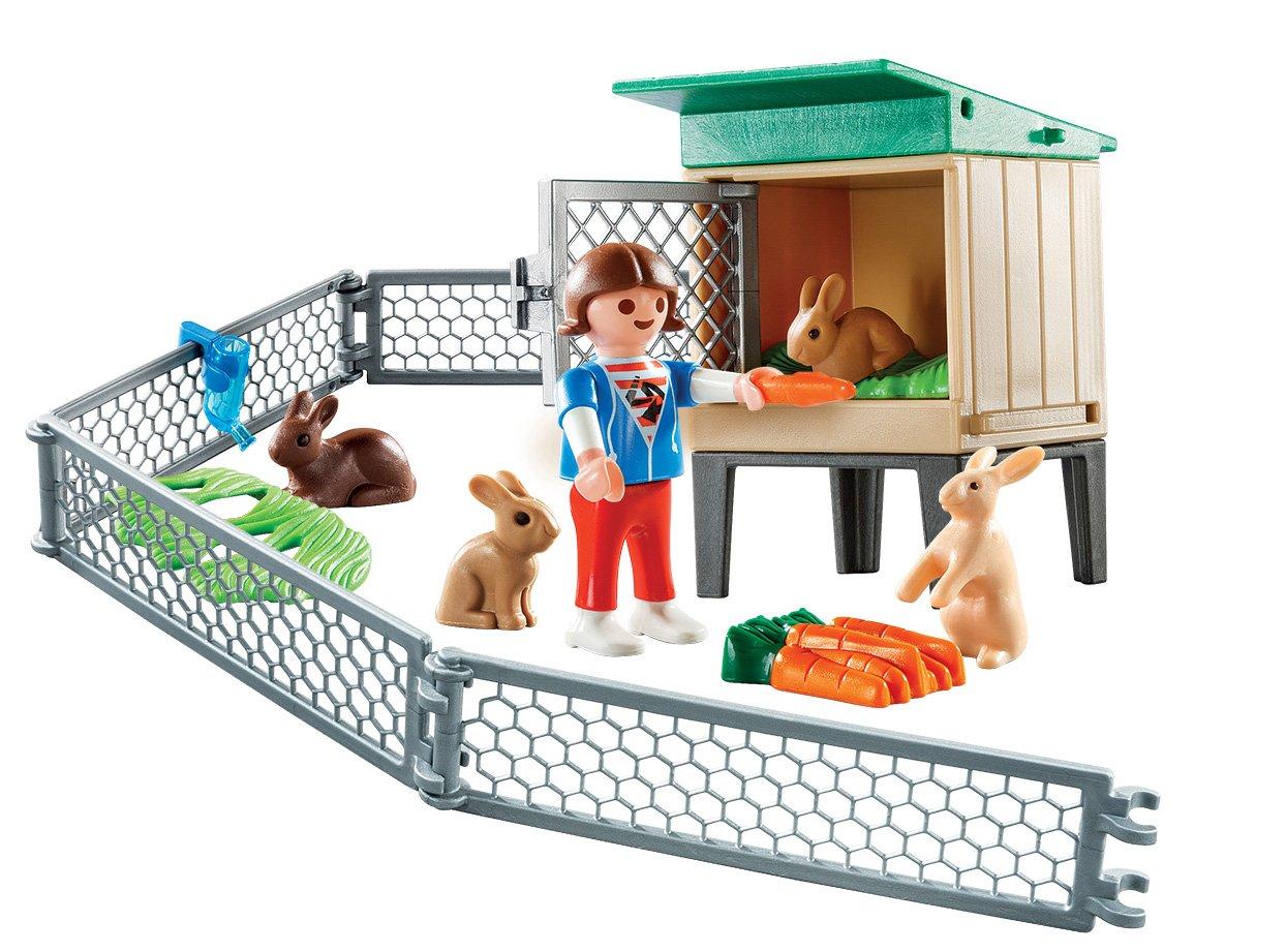 PLAYMOBIL/® Bunny Barn Carry Case Playmobil Cranbury 9104