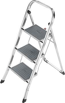 Hailo 4393-801-Mini - Escalera de Aluminio: Amazon.es: Bricolaje y herramientas